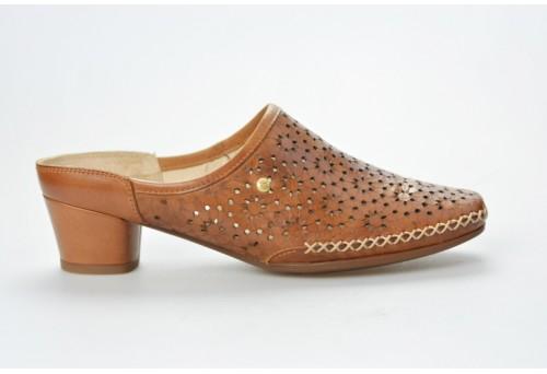 PIKOLINOS dámská letní pantofle Gomera W6R-5888 brandy