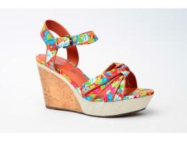 MARC dámský sandál 149010-61/951 květy