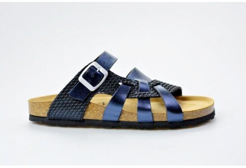 BIO LIFE zdravotní pantofle dámská Valeria 218 blue