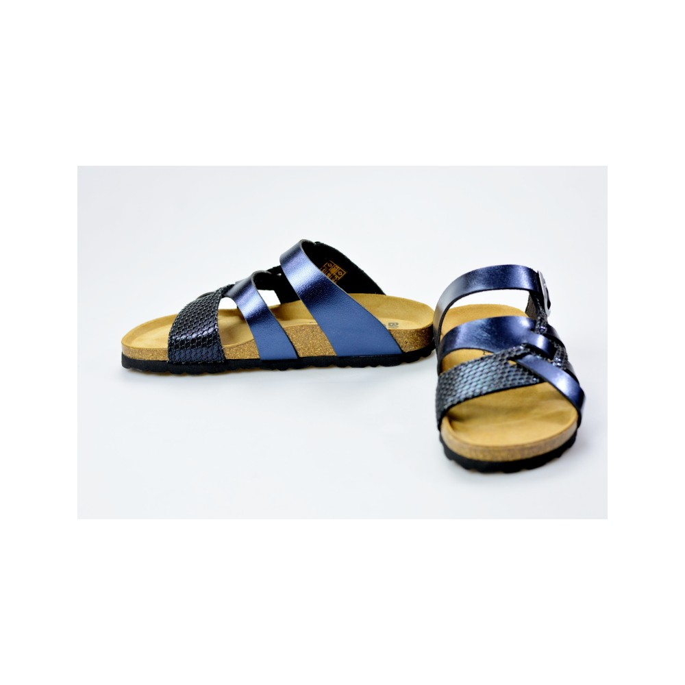 9dbc26bde32f BIO LIFE zdravotní pantofle dámská Valeria 218 blue