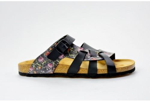 BIO LIFE zdravotní pantofle dámská Valeria 0004 black