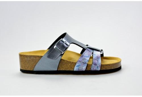 BIO LIFE zdravotní pantofle dámská Greta 1681.09 antracit