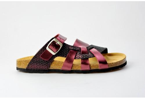 BIO LIFE zdravotní pantofle dámská00216 VALERIA bordo