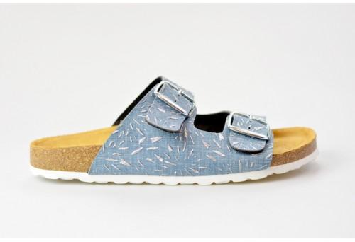 BIO LIFE zdravotní pantofle dámská Lena 0014.353 blue