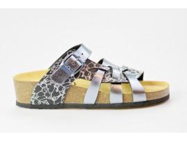 BIO LIFE zdravotní pantofle dámská Valeria 0004.130 antracit