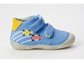 DDSTEP dětský kotníček celoroční 015-177 modrá