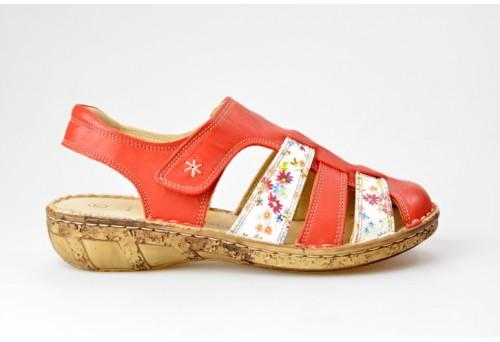 COMFORTABEL dámský sandál 720109-4 červená