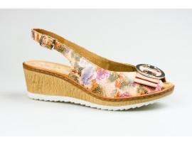 JENNY dámská letní sandále 56741-06 Rose