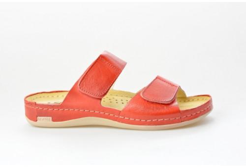 LEONS dámská pantofel relaxační Alisma 952 červená