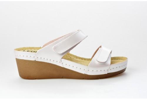 LEONS dámská pantofel relaxační Punto 1040 perleťová