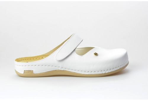 LEONS dámská pantofel relaxační Ortho 953 bílá