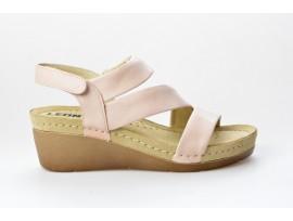 LEONS dámská pantofel relaxační Dina 1020 pudrová