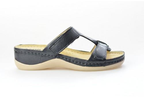 LEONS dámská pantofel relaxační Vita 914 černá