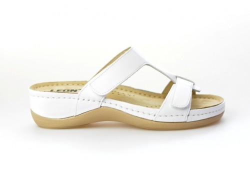 LEONS dámská pantofel relaxační Vita 914 bílá