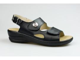 JASNÝ dámský sandál MCJ411 Olivia černá