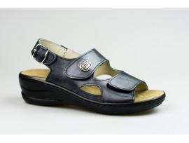 JASNÝ dámský sandál MCJ411 Olivia Queen černá