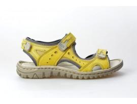 JOSEF SEIBEL dámský sandál 63817-904 Lucia 17 žlutá