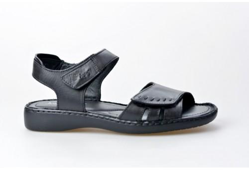JOSEF SEIBEL dámský sandál 73715-2313 Lisa 01 černá