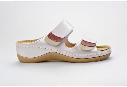 LEONS dámská pantofel relaxační Sena 904 perleťová
