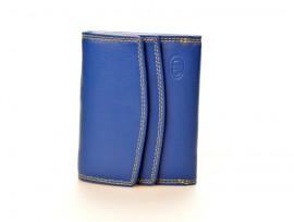 DD peněženka dámská kožená S 6115-06 modrá