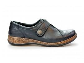 COMFORTABEL dámská mokasína suchý zip 942120-1 černá
