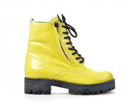PIAZZA dámský zimní kotník 962213-6-žlutá