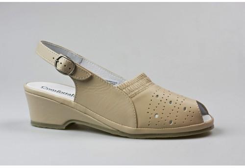 COMFORTABEL dámský sandál 710124-8 béžová