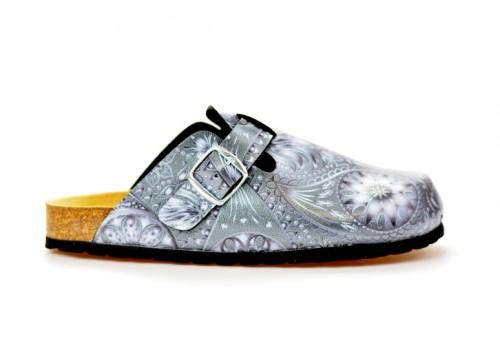 BIO LIFE zdravotní pantofle dámská 0005. Samba 379 antracit