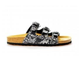 BIO LIFE zdravotní pantofle dámská Laura 0001. černá
