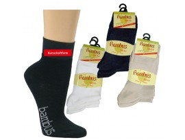 BAMBUSOVÁ ponožka polonízká SOCKS 4 YOU 2171 černá