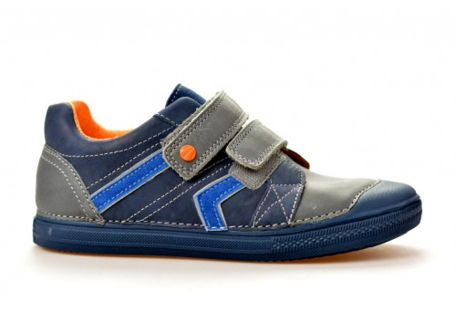 DDSTEP dětská polobotka chlapecká 049-908L modrá