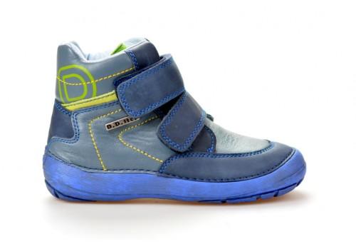 DDSTEP dětský kotník chlapecký 023-806AL modrá