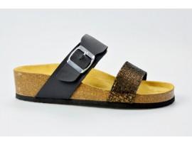 BIO LIFE zdravotní pantofle dámská 1587 BELINDA černá