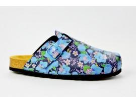 BIO LIFE zdravotní pantofle dámské 0005 Samba 380 modrá