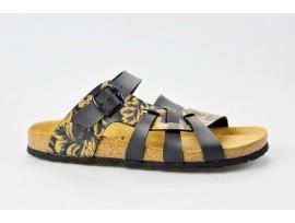 BIO LIFE zdravotní pantofle dámské 809 Valeria 372 černá