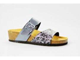 BIO LIFE zdravotní pantofle dámská 1802 Greta 280 antracit