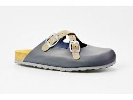 BIO LIFE zdravotní pantofle dámské 0128 Lola 383 tm.modrá