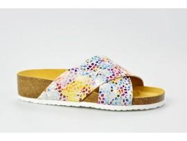 BIO LIFE zdravotní pantofle dámské 1484 Roxana 298 béžová