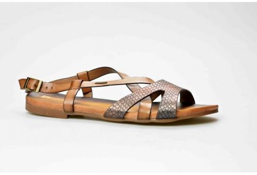 BIG STAR dámský sandál U274137 hnědá