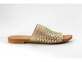 PIAZZA dámská letní pantofel 900594-82 zlatá