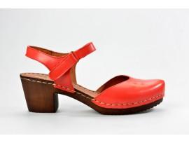 MANITU dámský sandál elegantní 910997-4 červená