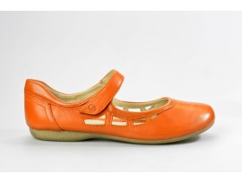 JOSEF SEIBEL dámská letní mokasína 87255 Fiona 55 orange