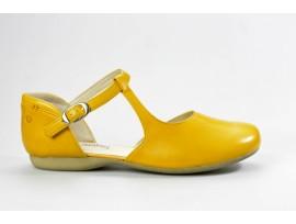 JOSEF SEIBEL dámská letní mokasína 87265 Fiona 65 žlutá