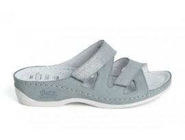 Batz dámské zdravotní pantofle Eni silverblue