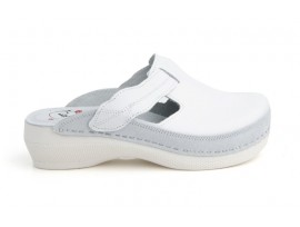 Batz dámské zdravotní pantofle Flower White