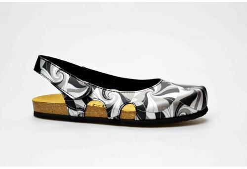 BIO LIFE zdravotní pantofle dámská 837 RIVA černá