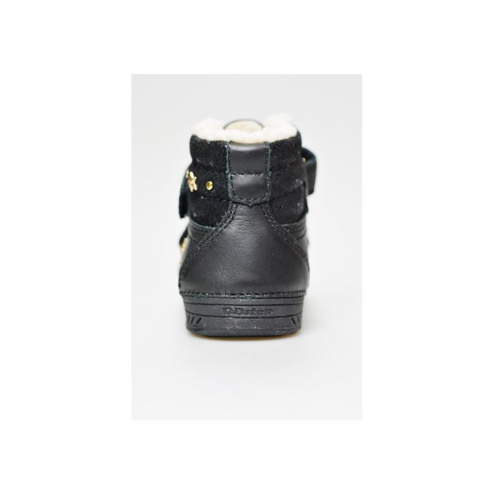 1a43f4a5a2c DDSTEP dětský zimní kotník 040--29A L černá