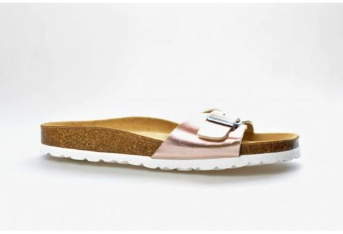 SALAMANDER zdravotní pantofle 32-13002-33 šíře G černá/kytka