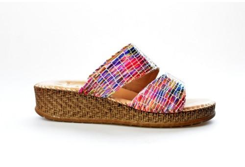 SALAMANDER dámská pantofle 32-40505-39 multicolor