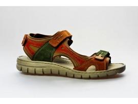 JOSEF SEIBEL dámský letní sandál 93423 Stefanie 23 camel/multi